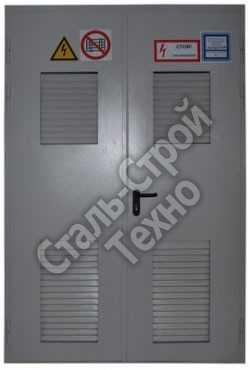 металлические противопожарные двери для электрощитовой