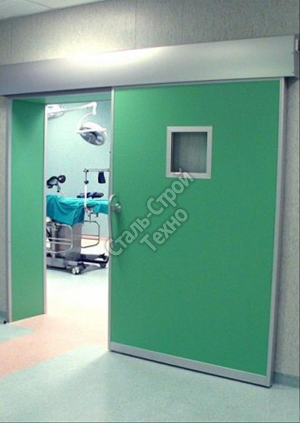 Медицинские откатные двери