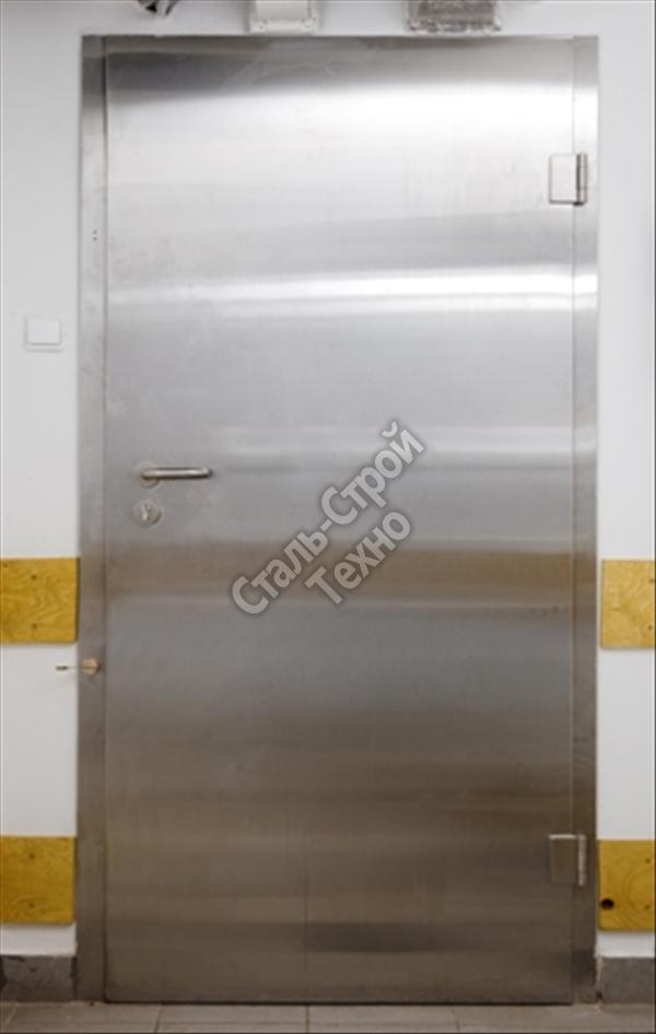 Двери металлические из нержавеющей стали