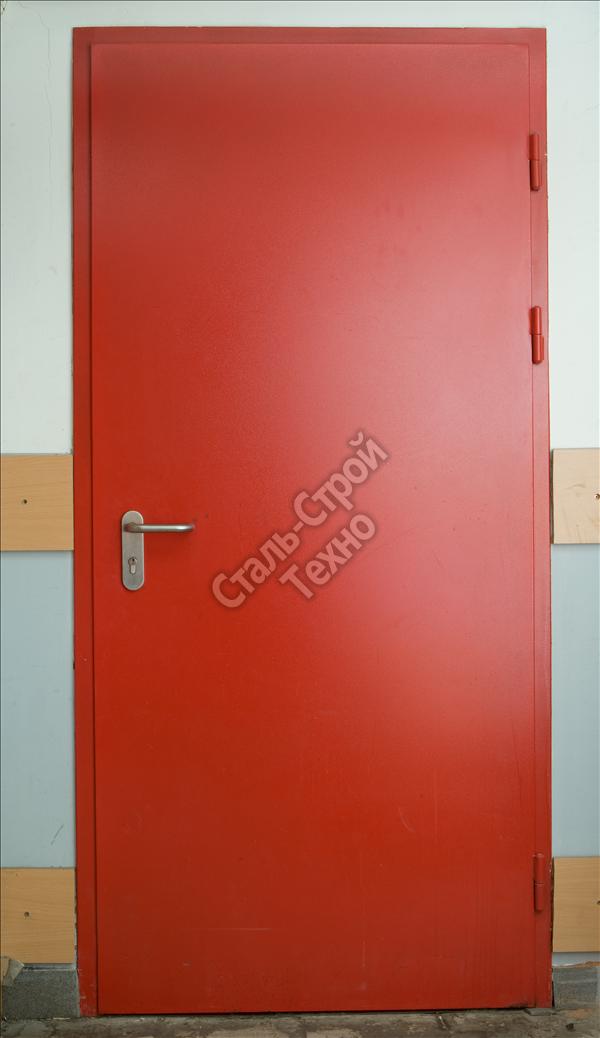 двери технические стальные противопожарные