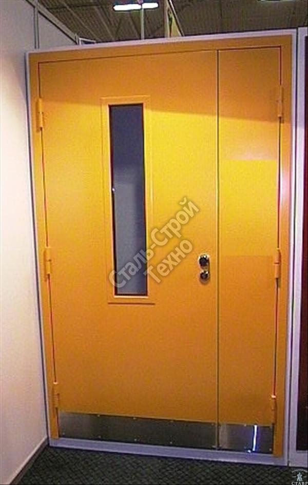стоимость металлических дверей в общественные здания