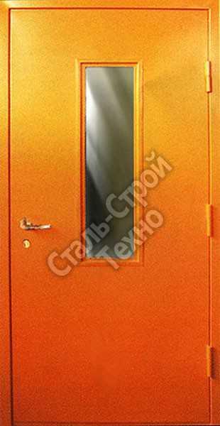 двери противопожарные е со стеклом входные