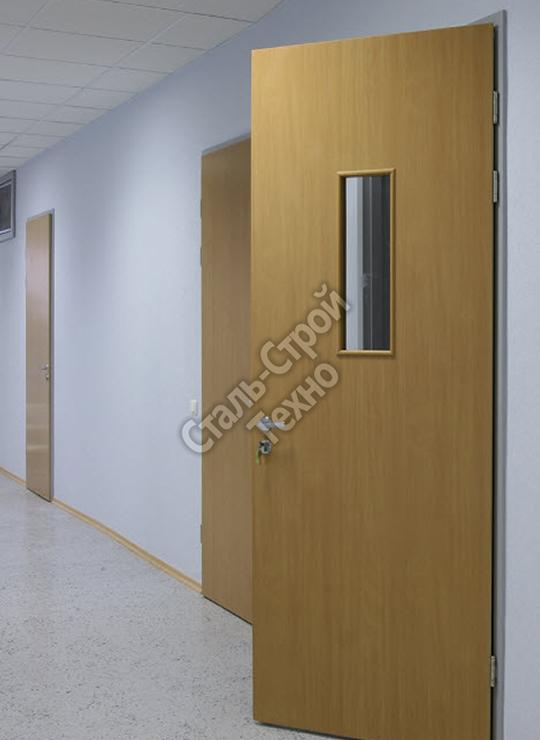 металлические двери для школ